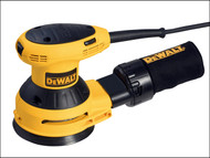 DEWALT DEWD26453 - D26453 125mm Random Orbit Palm Sander 280 Watt 230 Volt