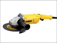 DEWALT DEWD28492K - D28492K 230mm Angle Grinder & Kit Box 2200 Watt 230 Volt