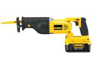 DEWALT DEWDC305M2 - DC305M2 Cordless Reciprocating Saw & Kit Box 36 Volt 2 x 4.0Ah Li-Ion