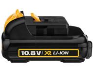 DEWALT DEWDCB125 - DCB125 XR Slide Battery Pack 10.8 Volt 1.3Ah Li-Ion