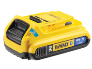 DEWALT DEWDCB183B - DCB183B Bluetooth Slide Li-Ion Battery Pack 18 Volt 2.0Ah
