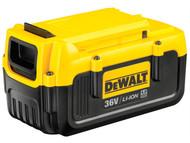 DEWALT DEWDCB360 - DCB360 Heavy-Duty Slide Pack Battery 36 Volt 4.0Ah Li-Ion