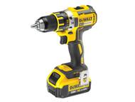 DEWALT DEWDCD790M2 - DCD790M2 Compact Brushless Drill Driver 18 Volt 2 x 4.0Ah Li-Ion