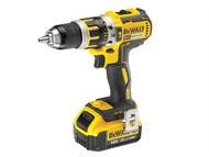 DEWALT DEWDCD795M2 - DCD795M2 Compact Brushless Hammer Drill Driver 18 Volt 2 x 4.0Ah Li-Ion