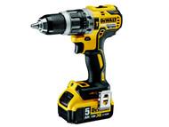 DEWALT DEWDCD796P2 - DCD796P2 XR Brushless Hammer Drill 18 Volt 2 x 5.0Ah Li-Ion