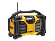 DEWALT DEWDCR017L - DCR017 XR DAB Radio & Charger 110 Volt & Li-Ion Bare Unit