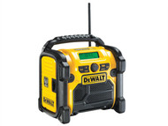 DEWALT DEWDCR020 - DCR020 DAB Digital Radio 240 Volt & Li-Ion Bare Unit