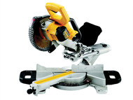 DEWALT DEWDCS365M2 - DCS365M2 Cordless XPS 184mm Mitre Saw 18 Volt 2 x 4.0Ah Li-Ion