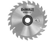 DEWALT DEWDT1156QZ - Circular Saw Blade 235 x 30mm x 24T Series 30 Fast Rip