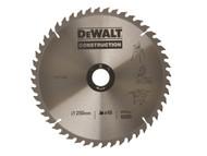 DEWALT DEWDT1159QZ - Circular Saw Blade 250 x 30mm x 48T Series 30 General-Purpose