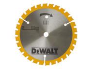 DEWALT DEWDT1201QZ - Trimsaw Blades 136 x 10mm x 24T Fine Finish Wood Cut