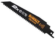 DEWALT DEWDT2300LQZ - 2X Life Wood & Nail Reciprocating Blades 152mm Pack of 5