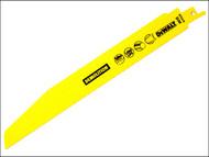 DEWALT DEWDT2310QZ - Sabre Blade Demolition Metal Sheet Profile & Tube 228mm Pack of 5