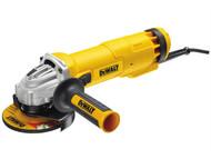 DEWALT DEWDWE4206K - DWE4206K-GB 115mm Mini Grinder With Kitbox 1010 Watt 240 Volt