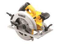 DEWALT DEWDWE575KL - DWE575KL 190mm Precision Circular Saw & Kitbox 1600 Watt 110 Volt