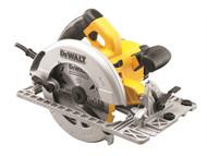 DEWALT DEWDWE576KL - DWE576KL 190mm Precision Circular Saw & Track Base 1600 Watt 110 Volt