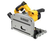 DEWALT DEWDWS520KT - DWS520KT Heavy-Duty Plunge Saw With Guide Rail 1300 Watt 240 Volt