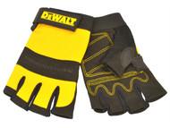 DEWALT DEWPERFORM4 - 1/2 Synthetic Padded Leather Palm Gloves
