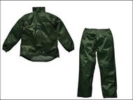 Dickies DIC10050XLG - Green Vermont Waterproof Suit - XL (48-50in)