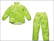 Dickies DIC10050XLY - Yellow Vermont Waterproof Suit - XL (48-50in)