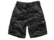 Dickies DIC83434B - Redhawk Cargo Shorts Black Waist 34in