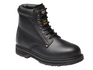 Dickies DICCLEVE8BL - Cleveland Black Super Safety Boots UK 8 Euro 42
