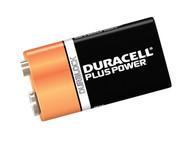 Duracell DUR9VK1P - 9v Cell Plus Power Battery Pack of 1 MN1604/6LR6
