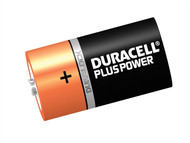 Duracell DURCK2P - C Cell Plus Power Batteries Pack of 2 R14B/LR14