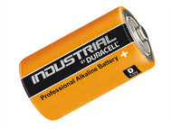 Duracell DURINDD - Duracell D Cell Professional Alkaline Industrial Batteries Pack of 10