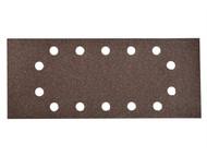Einhell EIN818708 - 818708 1/2 Sanding Sheets for RTOS30 115 x 280mm Medium 80 Grit (Pack of 10)