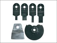 Einhell EINBTMGSET6 - 6 Piece Starter Kit for BT-MG180 Multi Tool 240 Volt