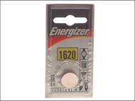 Energizer ENGCR1620 - CR1620 Coin Lithium Battery Single