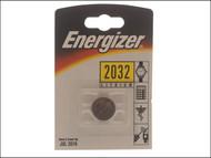 Energizer ENGCR2032 - CR2032 Coin Lithium Battery Single