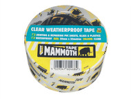 Everbuild EVB2CLEAR - Clear Weatherproof Tape 50mm x 33m