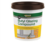 Everbuild EVBBUTGCB2KG - Butyl Glazing Compound Brown 102 2kg
