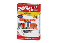 Everbuild EVBFILL15 - All Purpose Powder Filler 1.5kg + 20% Free