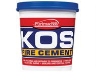 Everbuild EVBKOSBLK2K - KOS Fire Cement Black 2kg