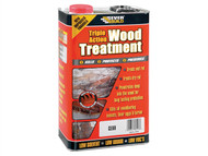 Everbuild EVBLJUN01 - Triple Action Wood Treatment 1 Litre