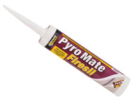 Everbuild EVBPRYWE - Pyro Mate Firesil White C3