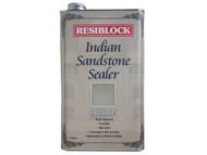 Everbuild EVBRBINDINV5 - Resiblock Indian Sandstone Sealer Invisible 5 Litre