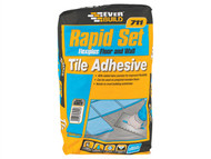 Everbuild EVBRSPLUS10 - Rapid Set Flexiplus Tile Adhesive 10kg
