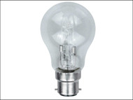 Energizer Lighting EVES4867 - GLS ECO Halogen Bulb 80 Watt (100 Watt) BC/B22 Bayonet Cap Box of 1