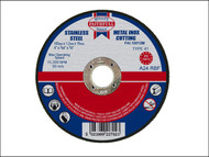 Faithfull FAI10012M - Cut Off Disc for Metal 100 x 1.2 x 16mm
