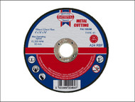 Faithfull FAI1003M - Cut Off Disc for Metal 100 x 3.2 x 16mm