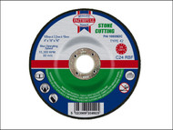Faithfull FAI1003SDC - Cut Off Disc for Stone Depressed Centre 100 x 3.2 x 16mm