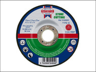 Faithfull FAI1153SDC - Cut Off Disc for Stone Depressed Centre 115 x 3.2 x 22mm