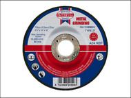 Faithfull FAI1156MDG - Grinding Disc for Metal Depressed Centre 115 x 6.5 x 22mm
