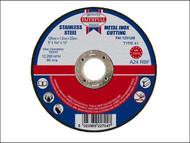 Faithfull FAI12512M - Cut Off Disc for Metal 125 x 1.2 x 22mm