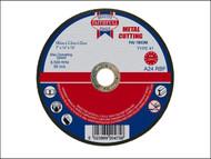 Faithfull FAI1803M - Cut Off Disc for Metal 180 x 3.2 x 22mm