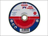 Faithfull FAI1806MDG - Grinding Disc for Metal Depressed Centre 180 x 6.5 x 22mm